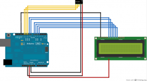 LCD with DS3231 Real Time Clock Module - Hacksterio