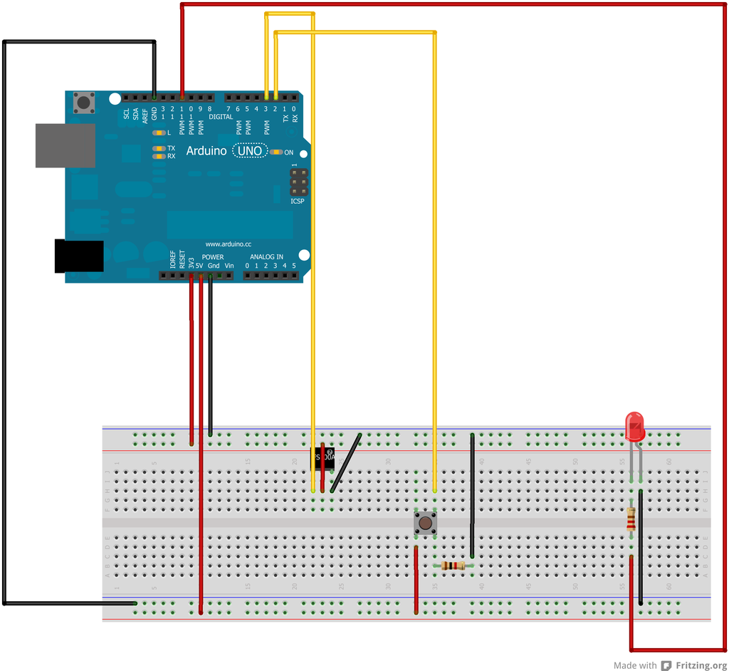 Arduino : send and receive data thru radio frequency (RF433