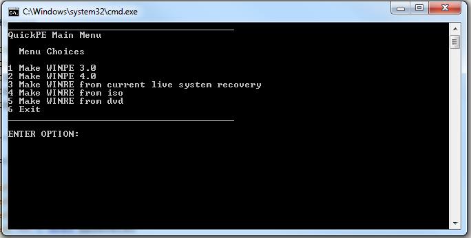 How to install Windows (7 or 8) thru WINPE, via PXE, onto