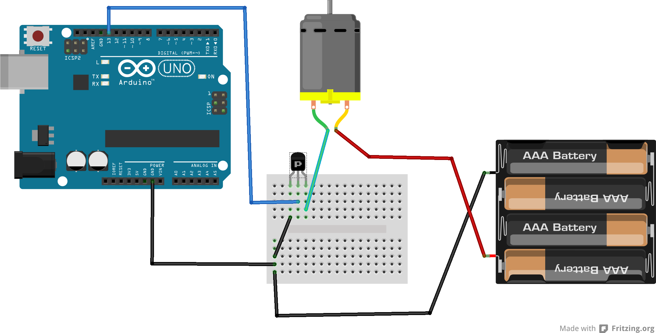 arduino use a transistor erwan s blog rh labalec fr connect transistor arduino Arduino Pinout
